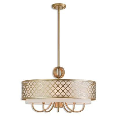 Dailey 4 Light Drum Chandeliers Within Popular Tymvou 6 Light Drum Chandelier – Artofit (View 12 of 25)
