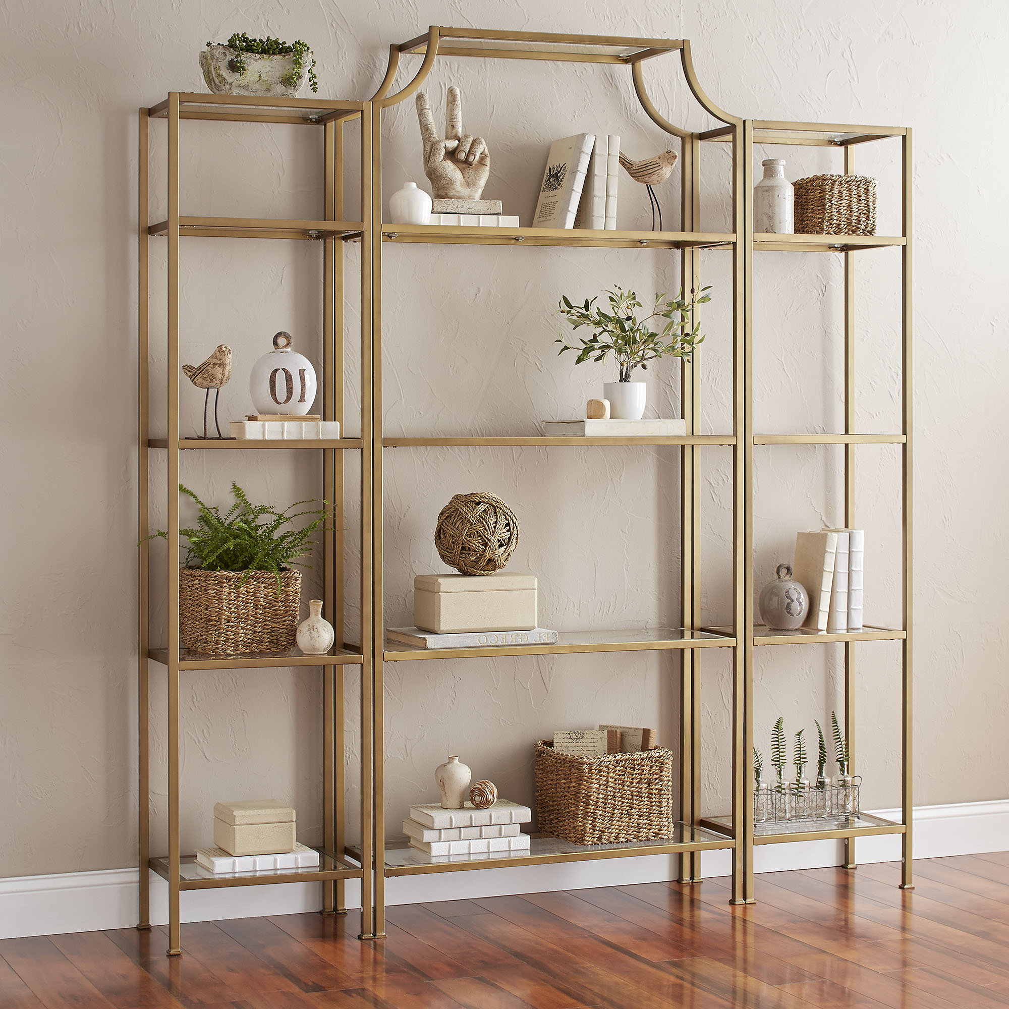 Damon Etagere Bookcases Intended For Preferred Buchanan Etagere Bookcase (View 4 of 20)