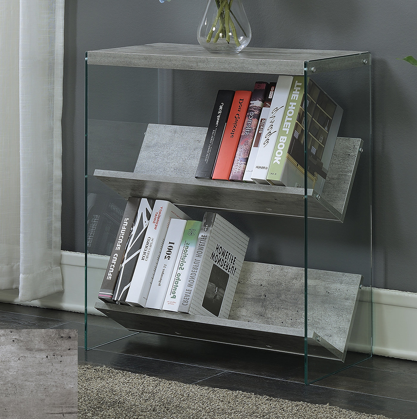 Daria Standard Bookcases In Widely Used Wade Logan Daria Standard Bookcase (Gallery 6 of 20)