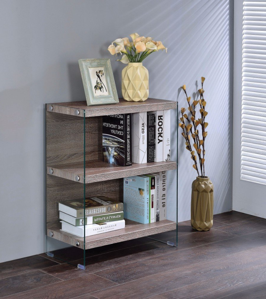 Daria Standard Bookcases Inside 2019 Mosinee Spacious Standard Bookcase (View 8 of 20)