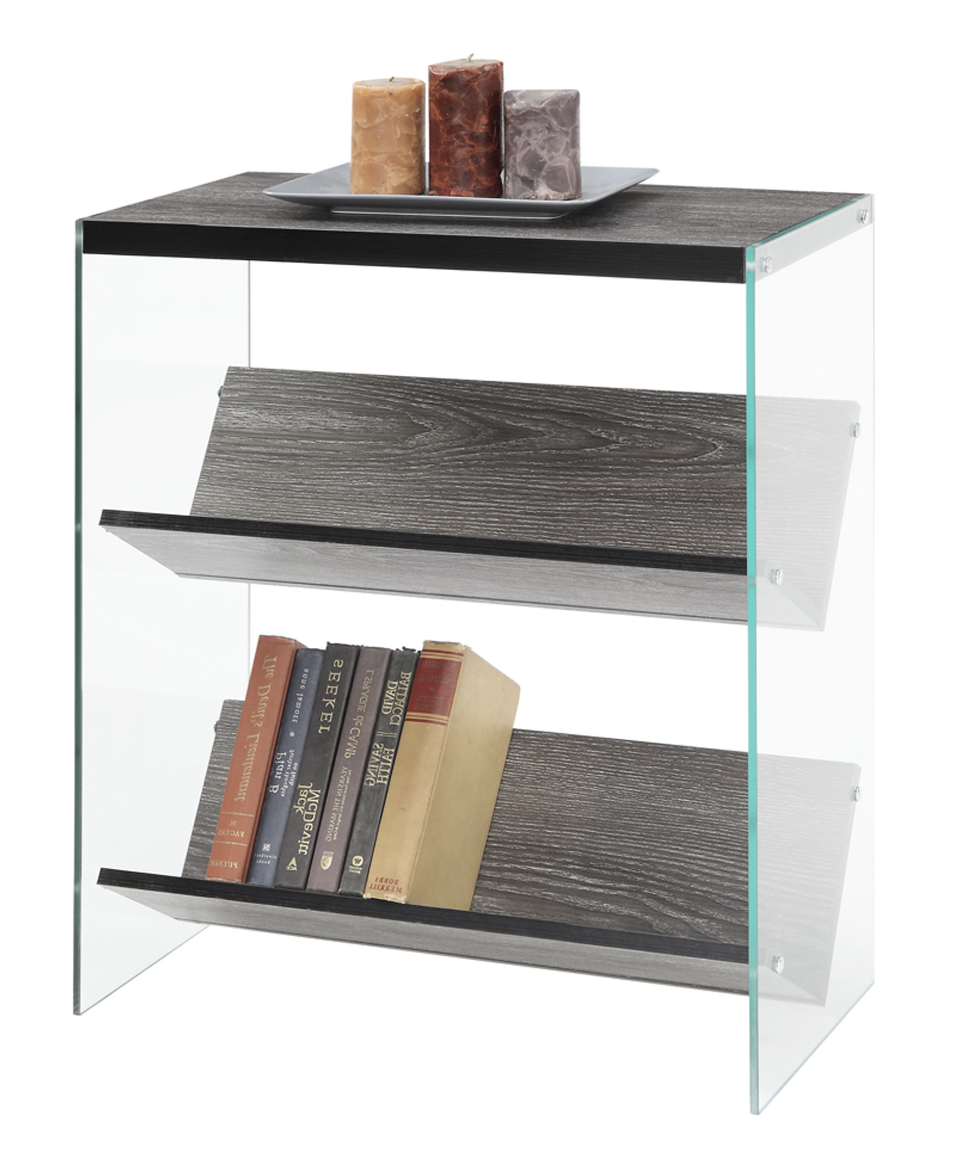 Daria Standard Bookcases With Regard To Fashionable Wade Logan Daria Standard Bookcase (Gallery 2 of 20)