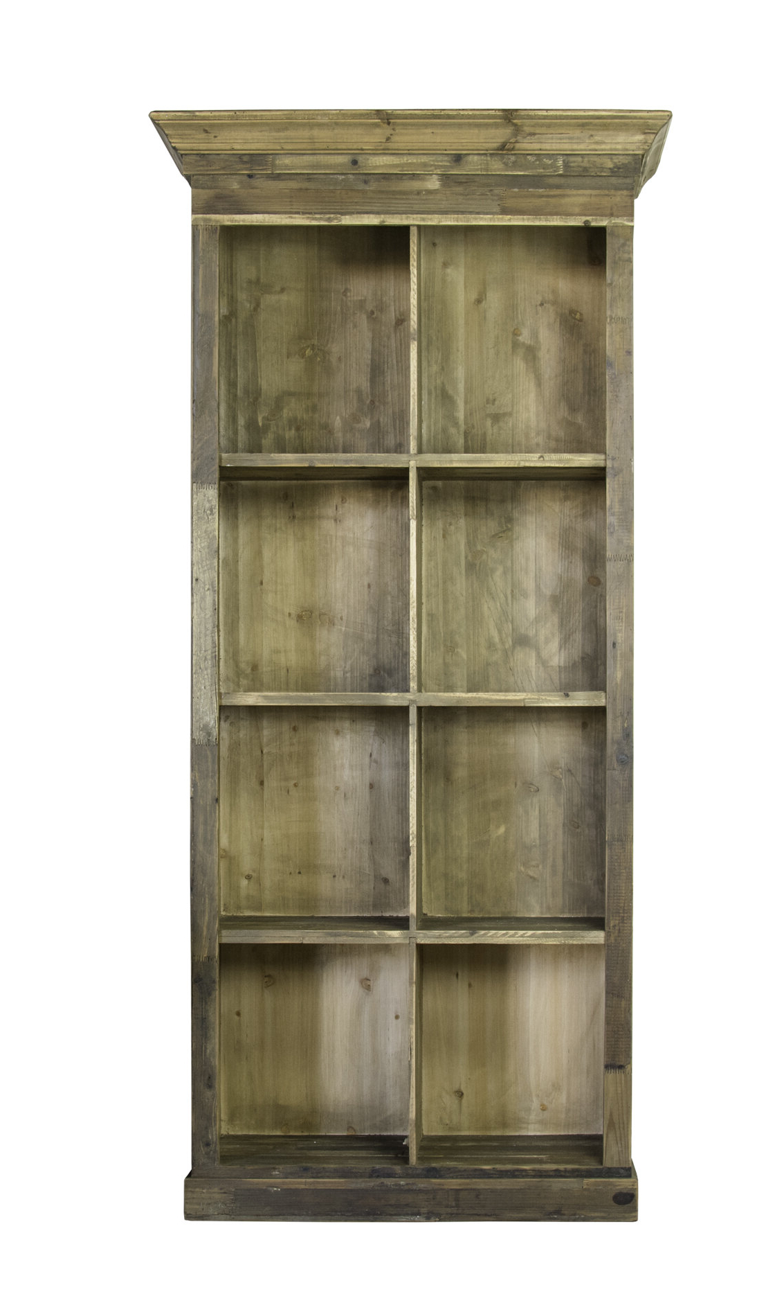 Daria Standard Bookcases With Regard To Favorite Shelton Wood 4 Tier Standard Bookcase (Gallery 16 of 20)