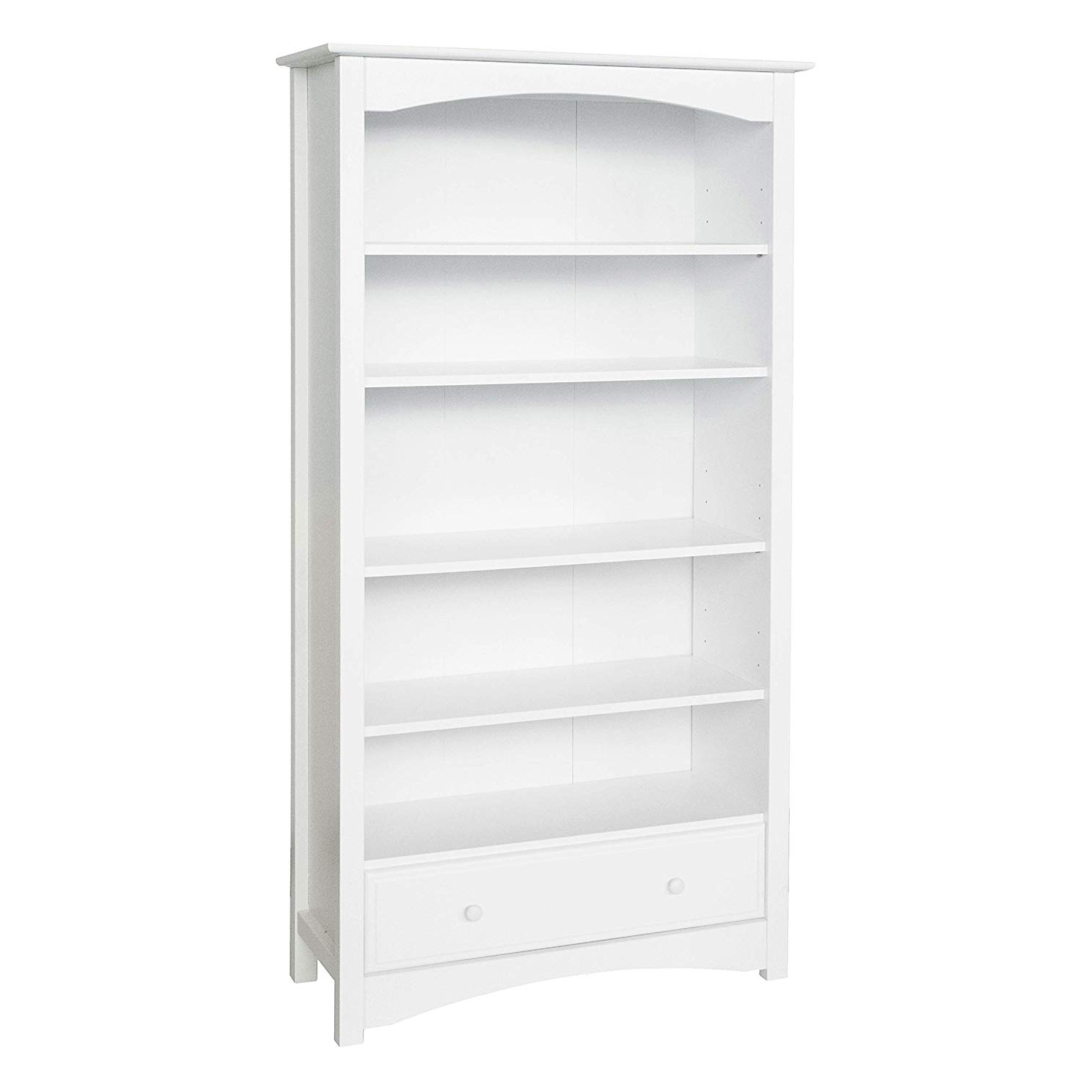 Davinci Mdb Book Case, White Inside Recent Mdb Standard Bookcases (Gallery 1 of 20)