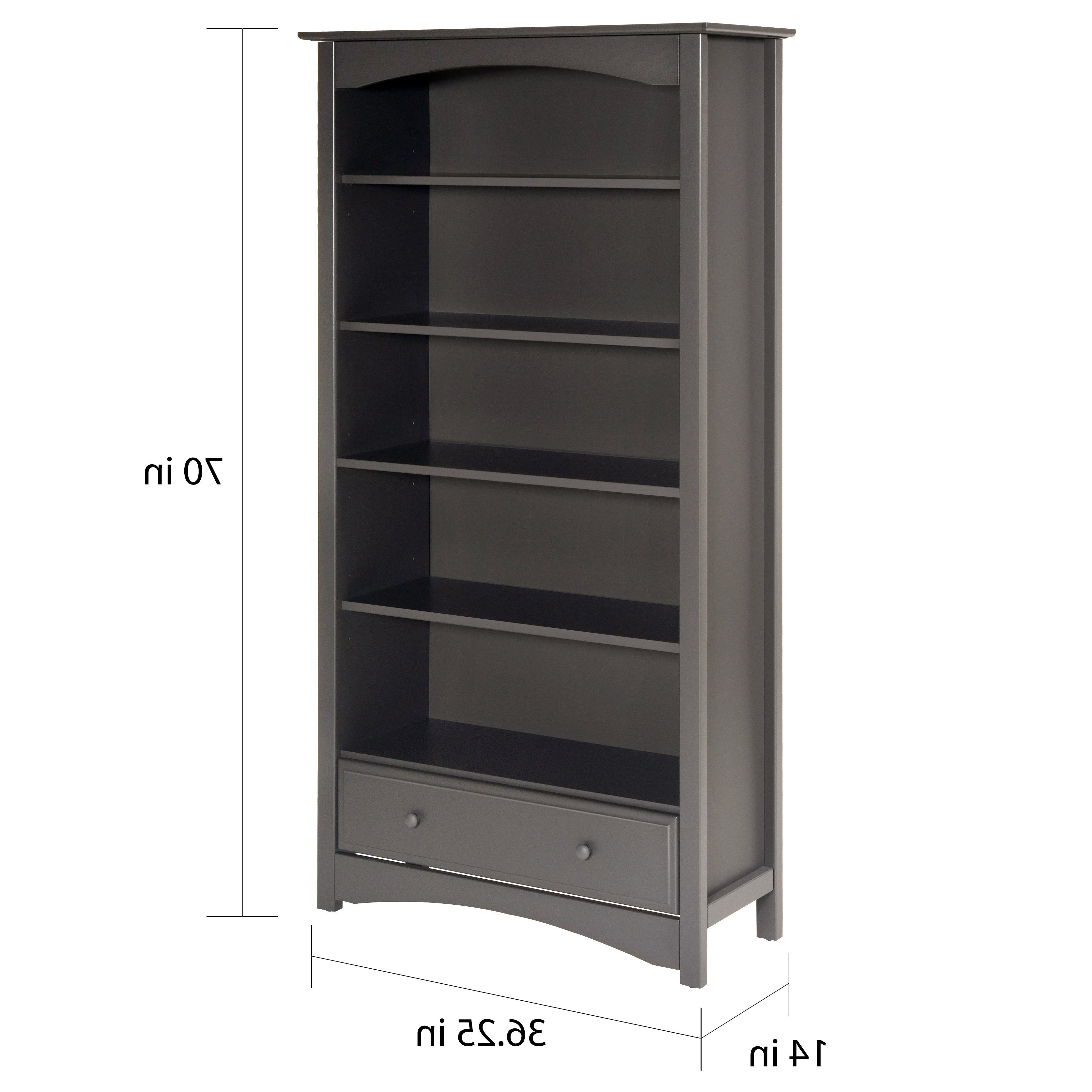 Decorative Standard Bookcases Pertaining To Well Known Davinci Bookcase (View 6 of 20)