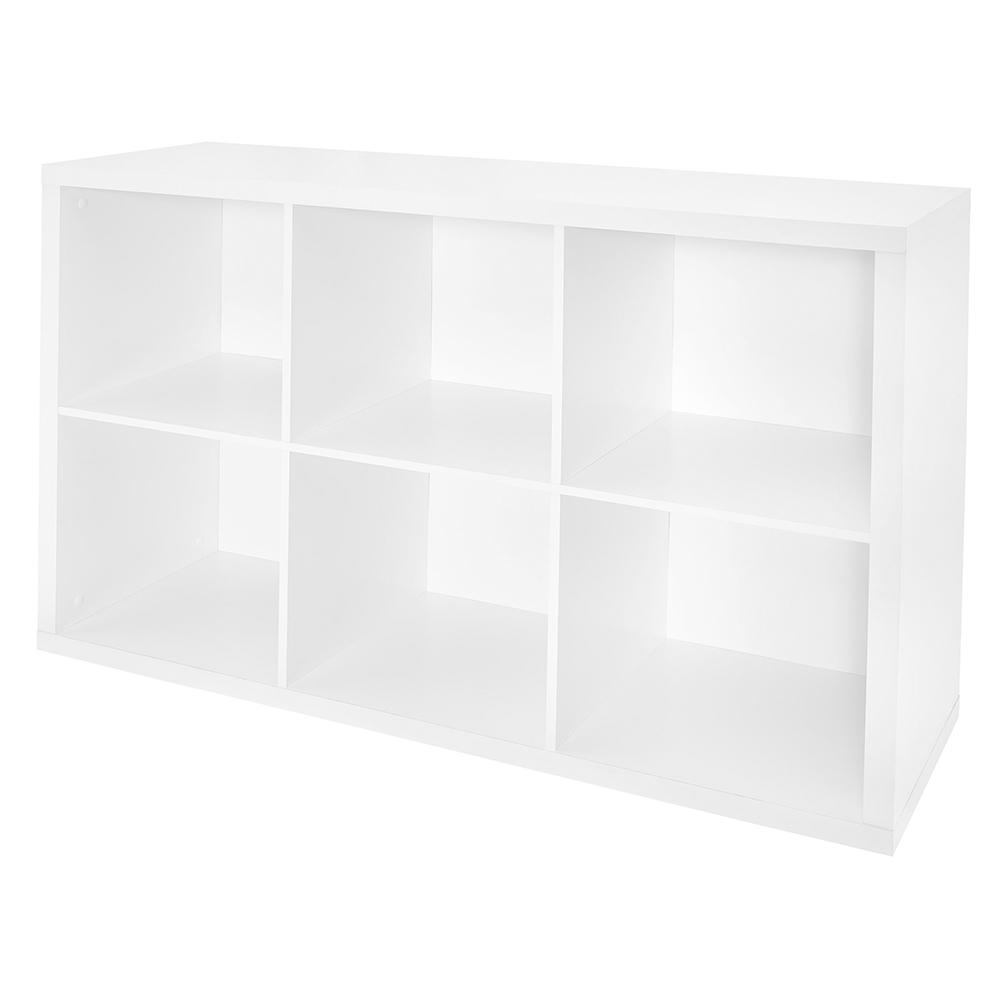 Decorative Storage Cube Bookcases For Newest Closetmaid 30 In. W X 44 In (View 17 of 20)