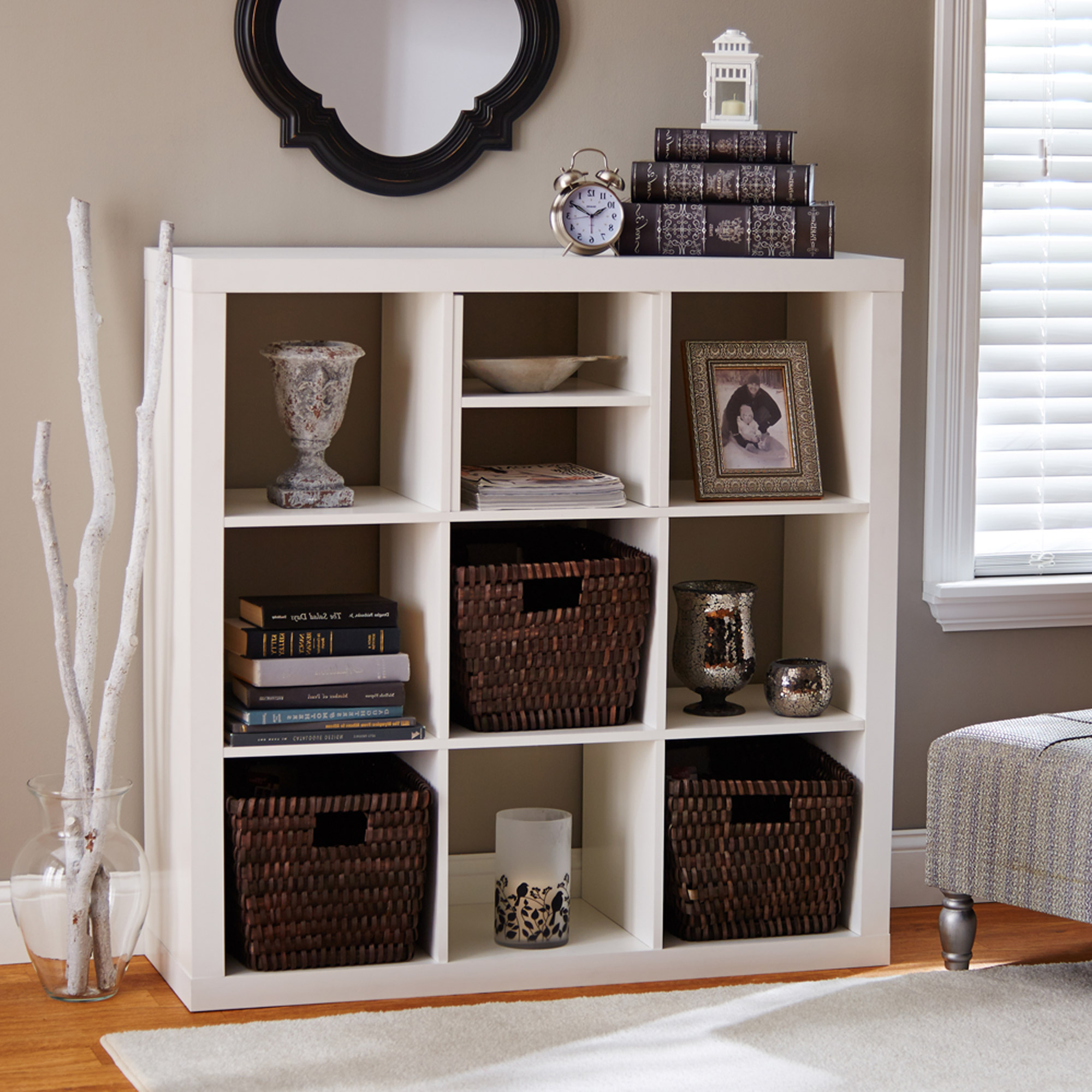 Decorative Storage Cube Bookcases Inside Favorite Better Homes&gardens Shelf (View 18 of 20)