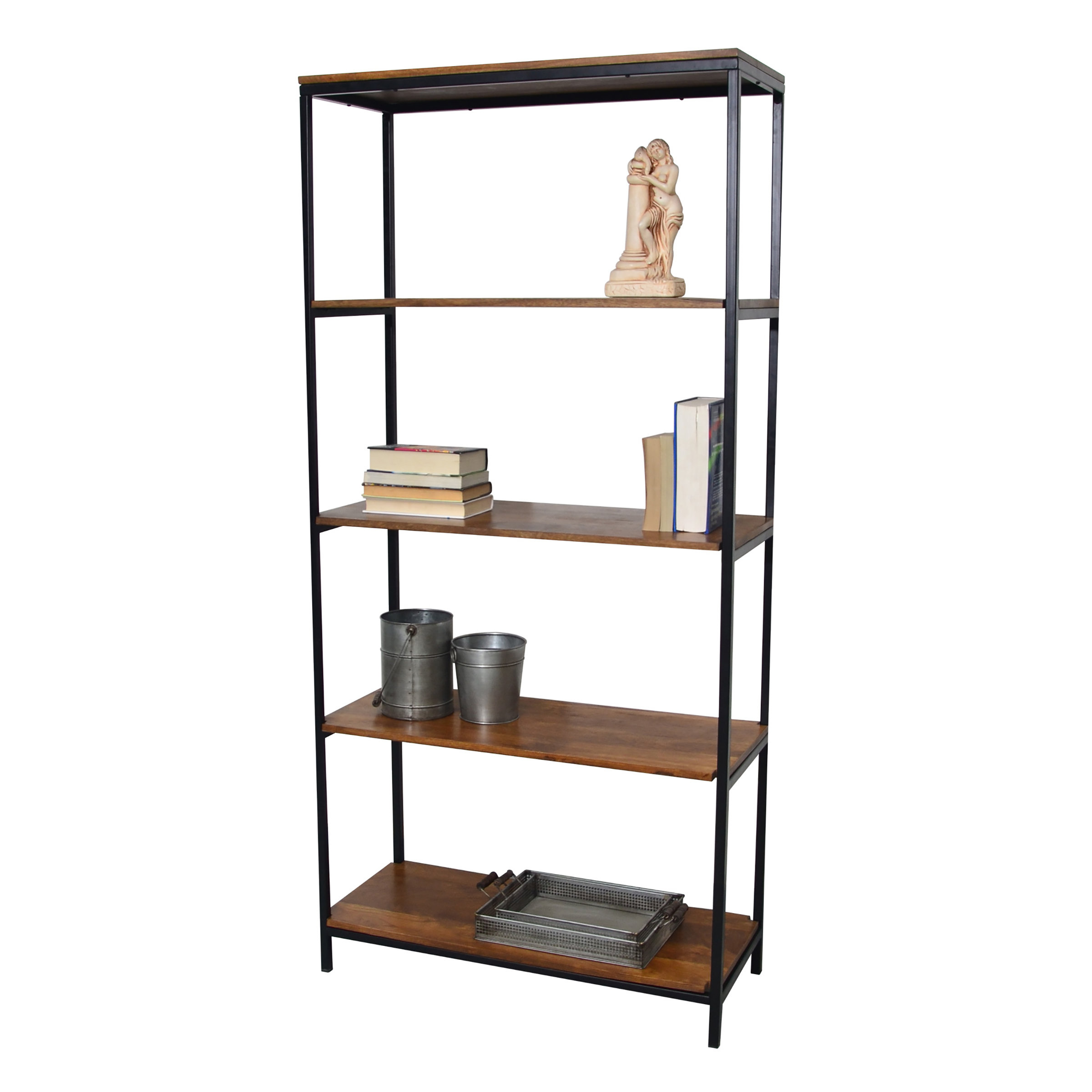 Defranco Etagere Bookcase For Latest Moriann Etagere Bookcases (View 2 of 20)