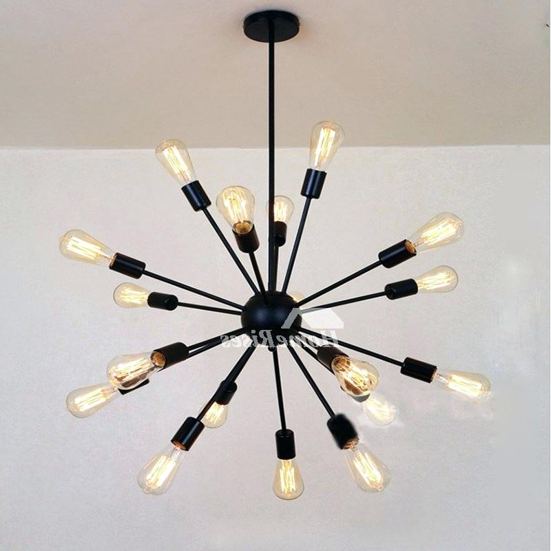 Defreitas 18 Light Sputnik Chandeliers With 2018 Sputnik 18 Light Chandelier (View 8 of 25)