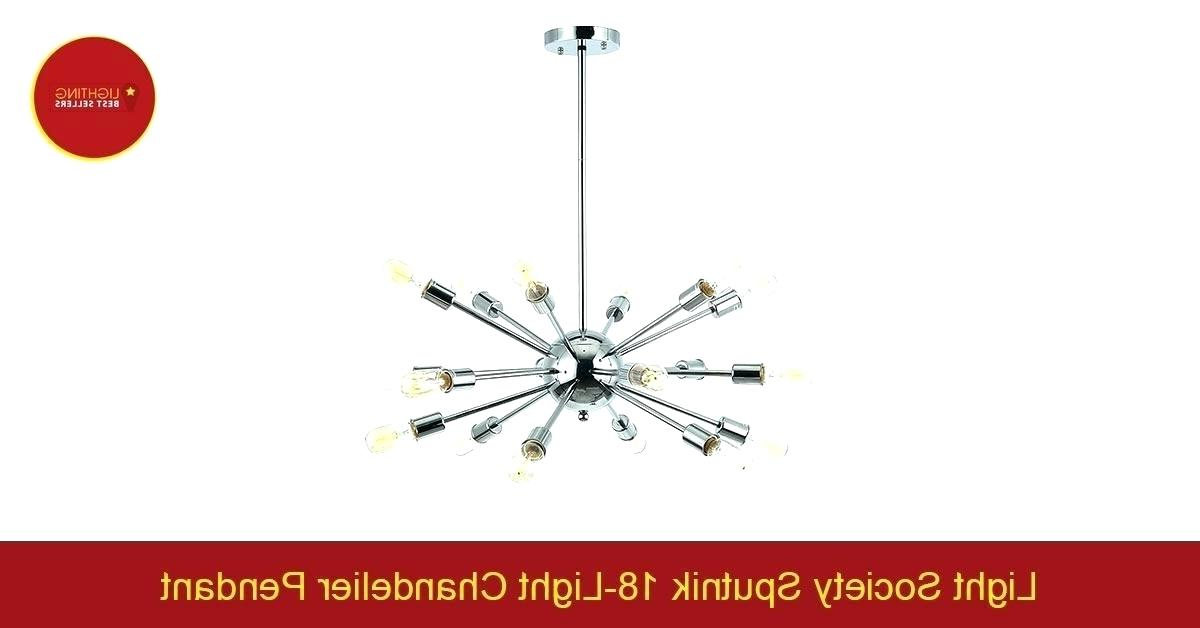 Defreitas 18 Light Sputnik Chandeliers With Regard To Current Sputnik 18 Light Chandelier (View 9 of 25)