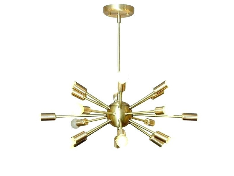 Defreitas 18 Light Sputnik Chandeliers With Regard To Most Recently Released Sputnik 18 Light Chandelier (View 10 of 25)