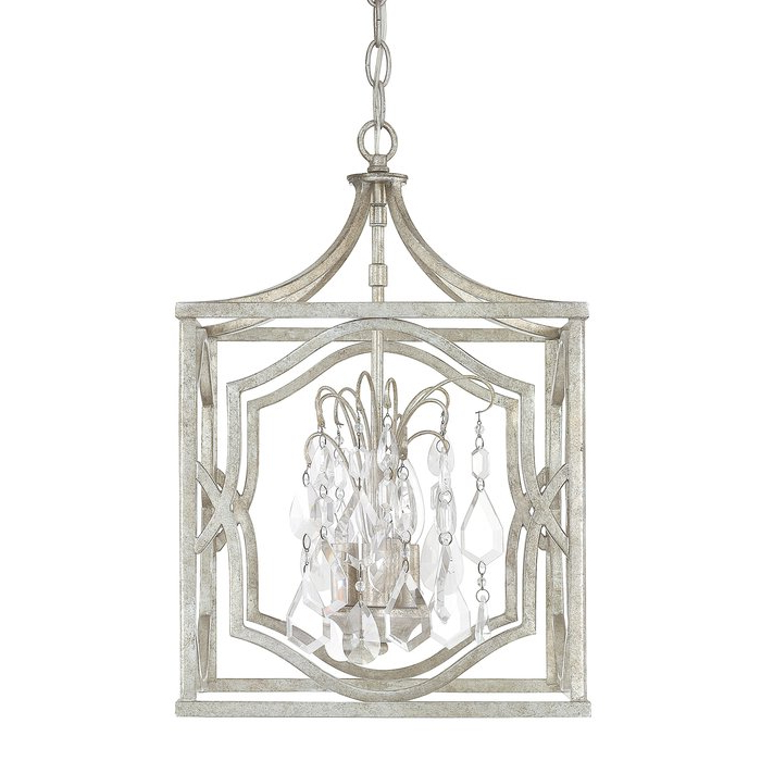 Destrey 3 Light Lantern Pendant Throughout Latest Destrey 3 Light Lantern Square/rectangle Pendants (Gallery 8 of 25)