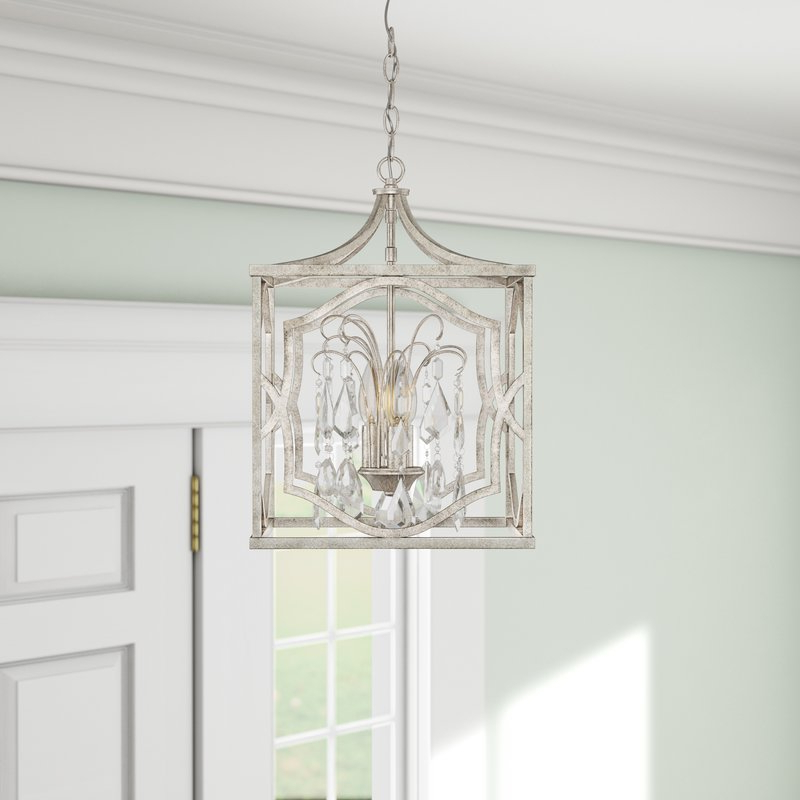 Destrey 3 Light Lantern Pendant With Regard To Best And Newest Destrey 3 Light Lantern Square/rectangle Pendants (View 5 of 25)