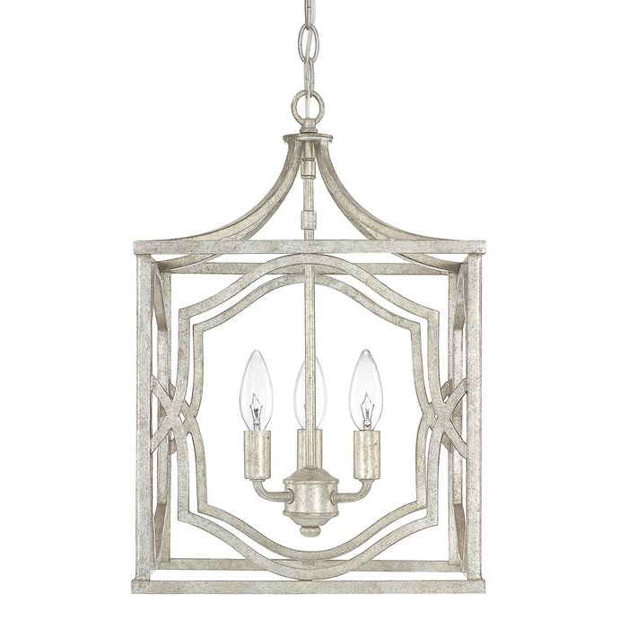 Featured Photo of Destrey 3 Light Lantern Square/rectangle Pendants