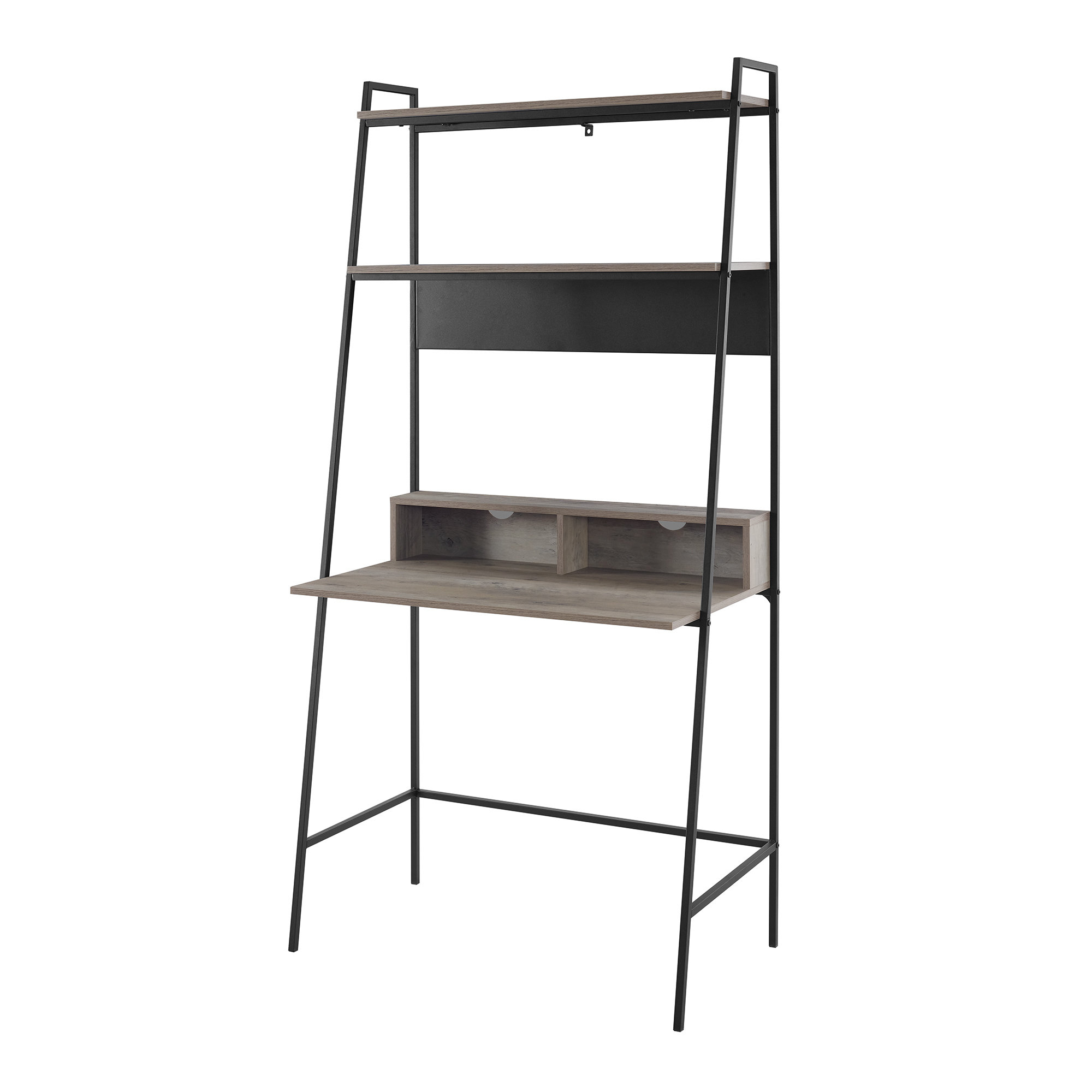 Diego Leaning/ladder Desk Throughout Famous Riddleville Ladder Bookcases (View 19 of 20)