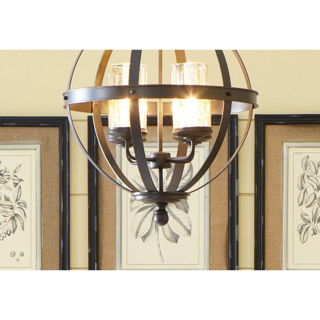 Donna 4 Light Globe Chandeliers Inside 2018 Donna 4 Light Globe Chandelier (View 4 of 25)