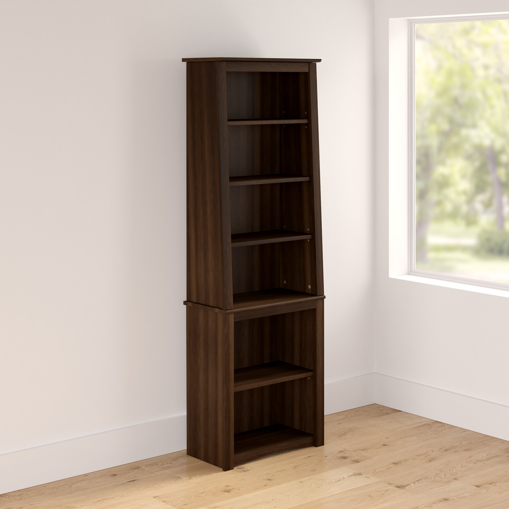 Dowlen Standard Bookcase Throughout Well Known Walworth Standard Bookcases (Gallery 15 of 20)