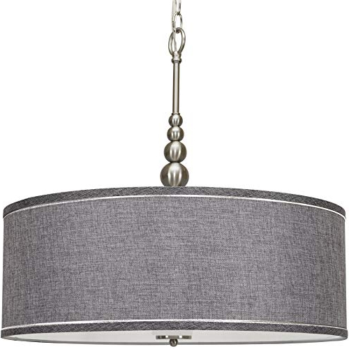 Drum Lighting Chandelier: Amazon Pertaining To Famous Wightman Drum Chandeliers (Gallery 18 of 25)