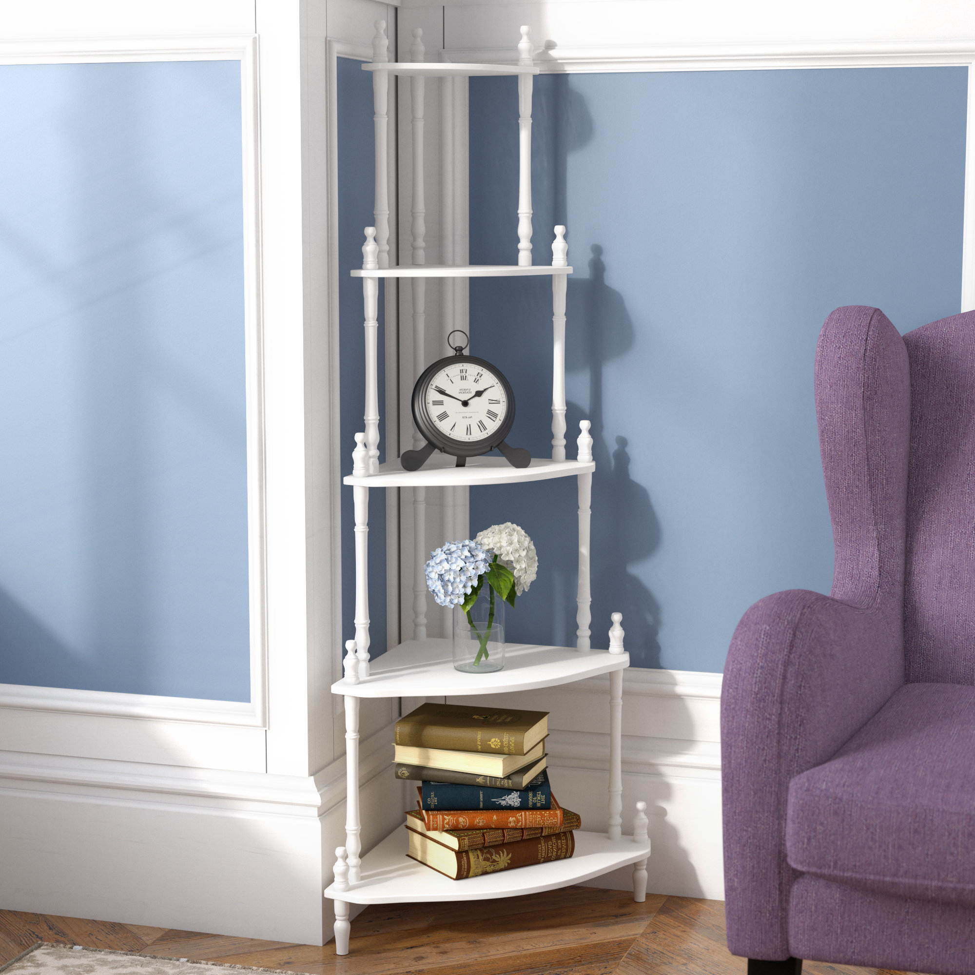 Duerr Corner Unit Bookcases Pertaining To Newest Ogden Corner Unit Bookcase (Gallery 12 of 20)
