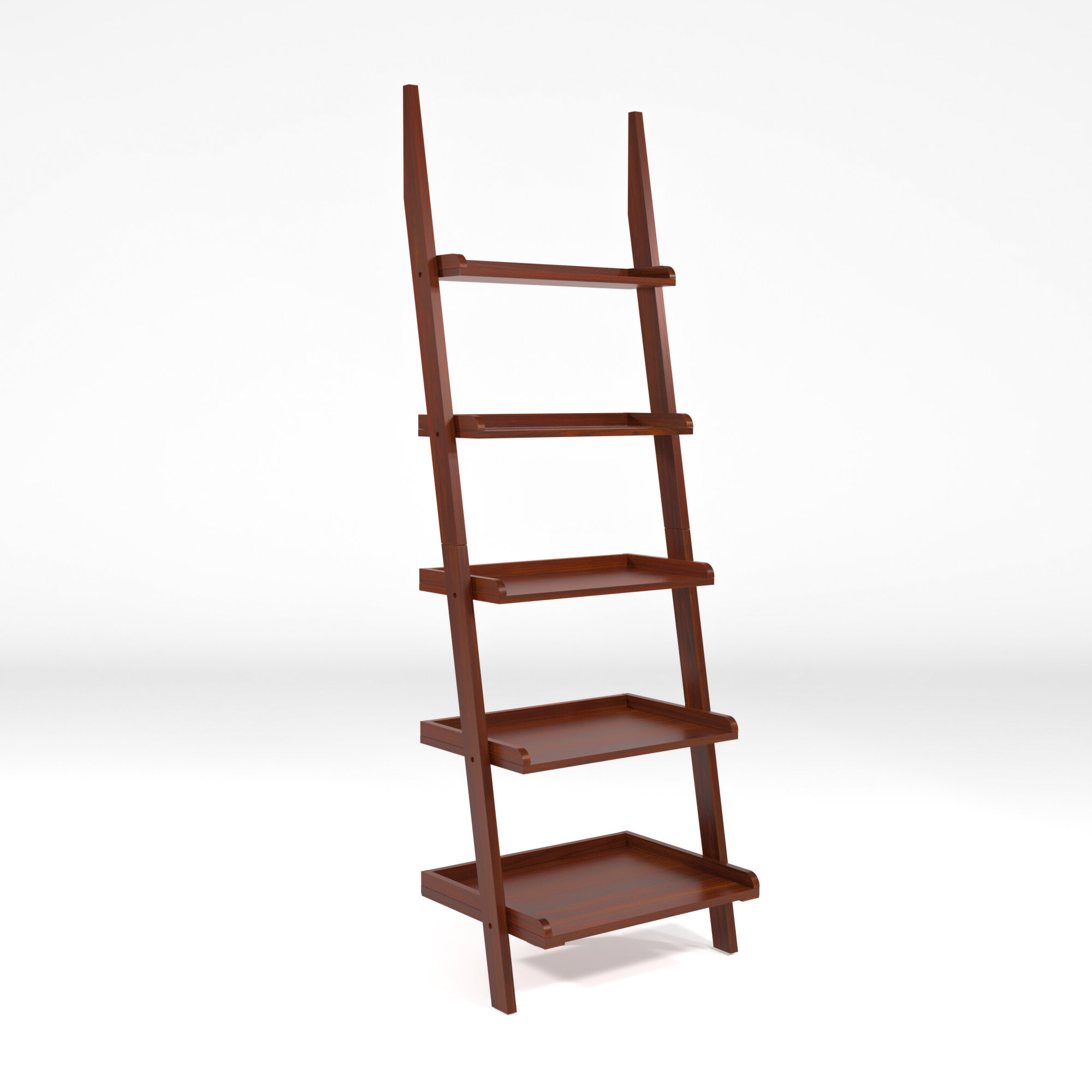 Dunhill Ladder Bookcase In Most Recent Massena Ladder Bookcases (Gallery 18 of 20)