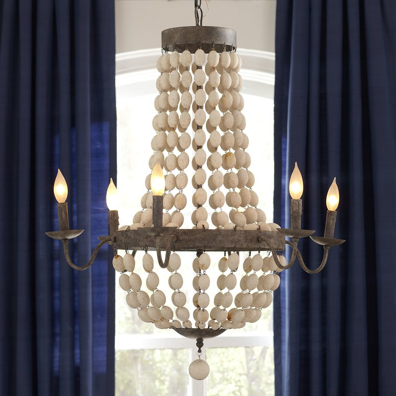 Duron 5 Light Empire Chandeliers Intended For Latest Bargas 6 Light Empire Chandelier (View 5 of 25)