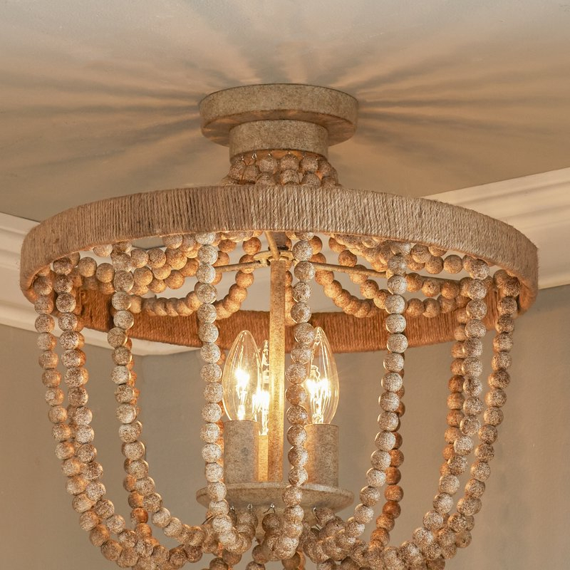 Duron 5 Light Empire Chandeliers Throughout Most Recent Duron 3 Light Semi Flush Mount (Gallery 15 of 25)