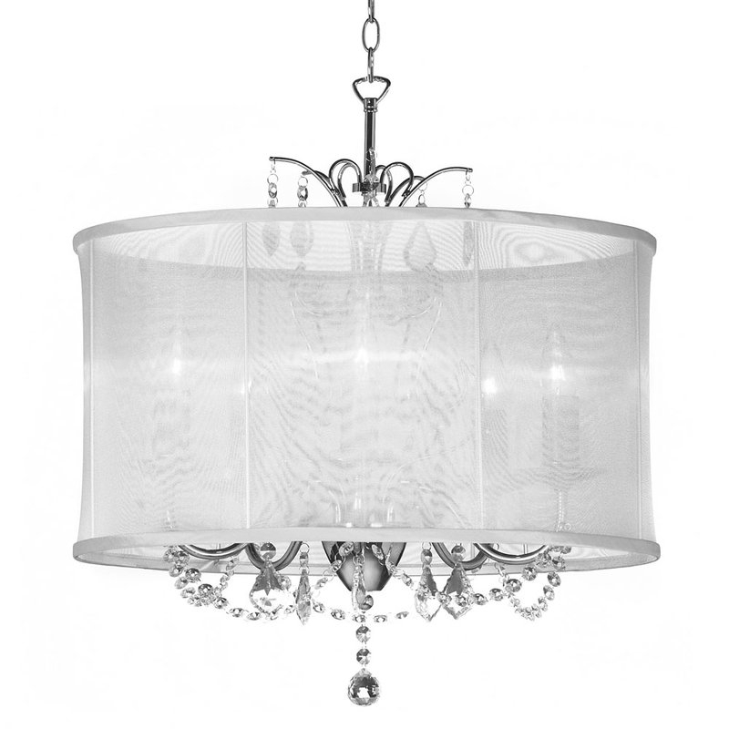 Edmond 5 Light Drum Chandelier In Recent Abel 5 Light Drum Chandeliers (View 10 of 25)