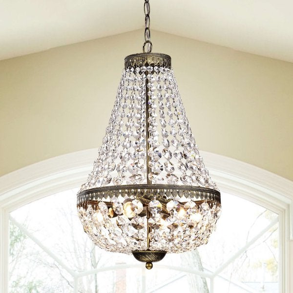 Eladia 6 Light Sputnik Chandeliers With Fashionable Chandelier 6 Lights Wiring Diagram (View 20 of 25)