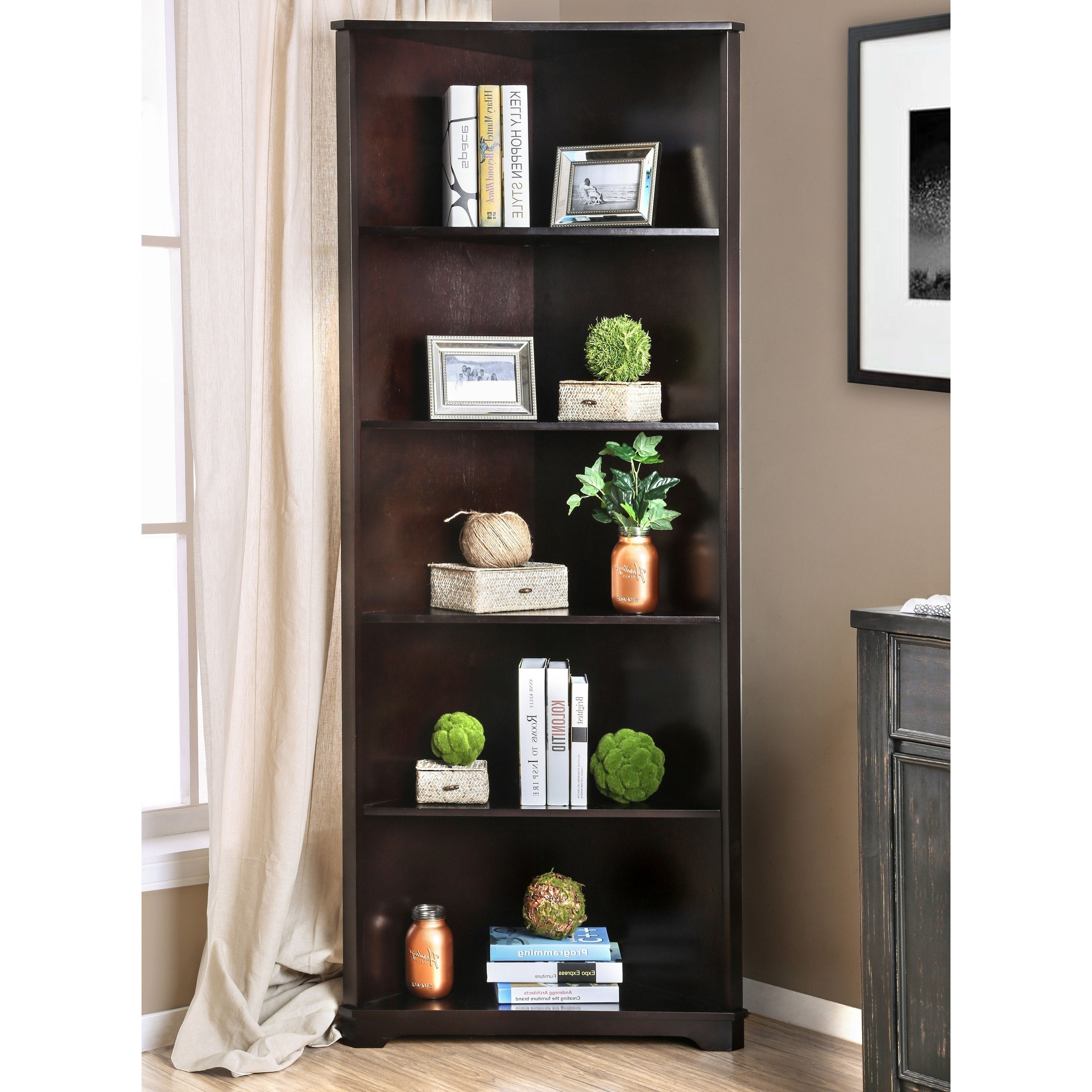 Emerson Corner Unit Bookcases Intended For Well Liked Hooker Furniture Corner Bookshelf – Wvsdc (View 8 of 20)
