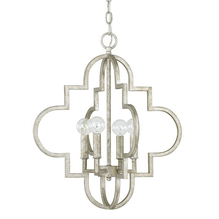 Entryway Ideas Within Best And Newest Reidar 4 Light Geometric Chandeliers (View 4 of 25)