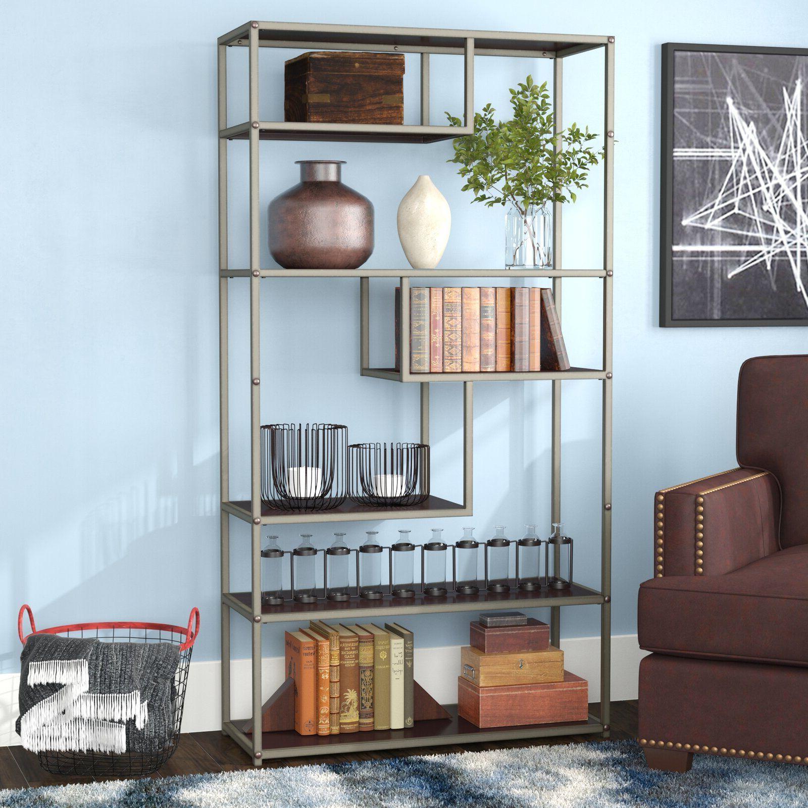 Epineux 2 Piece Desk Office Suite – Artofit For Most Recent Epineux Etagere Bookcases (View 17 of 20)