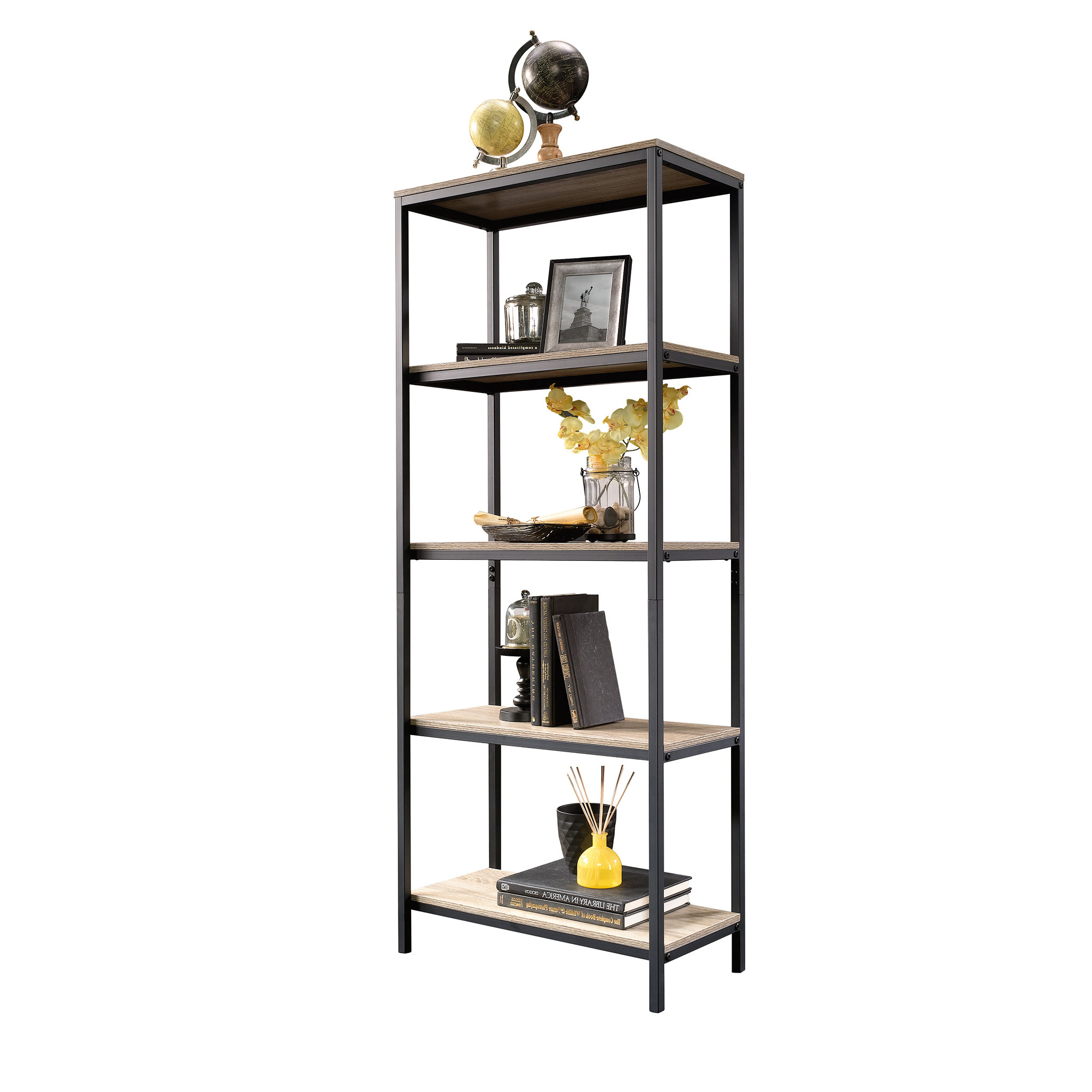 Ermont Etagere Bookcases Within Current Ermont Etagere Bookcase (Gallery 2 of 20)