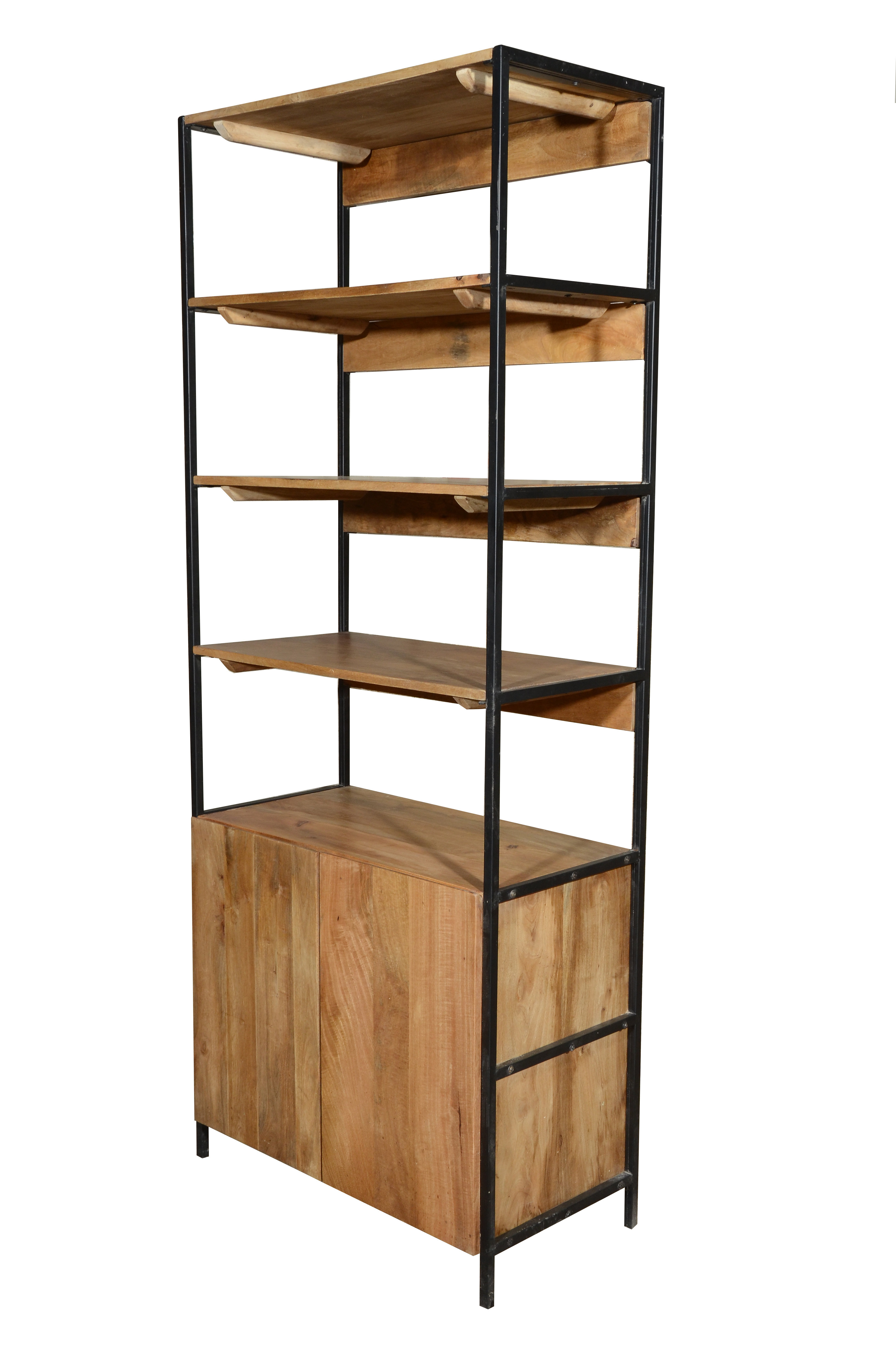 Etagere Bookcase Pertaining To Famous Woodcrest Etagere Bookcases (View 4 of 20)