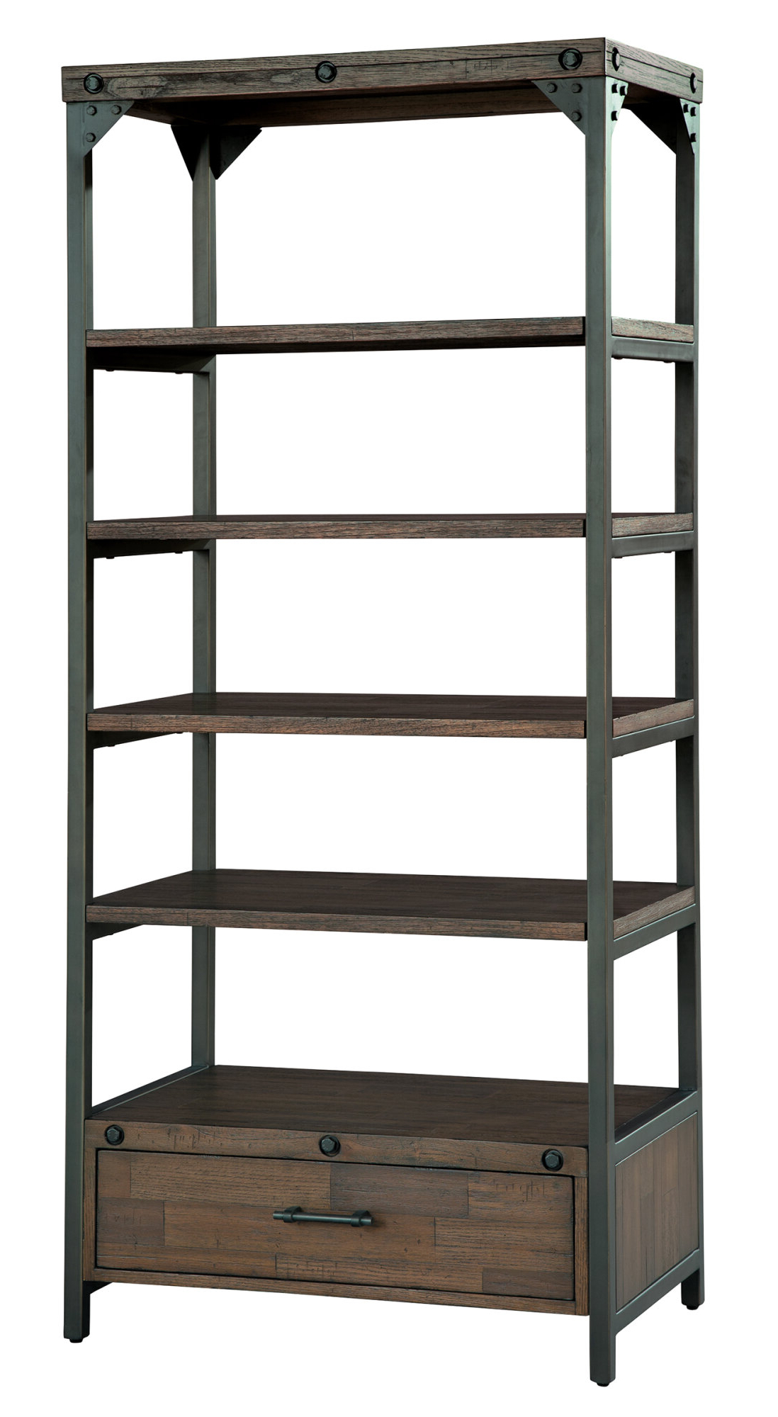 Etagere Wood Bookcases You'll Love In  (View 4 of 20)