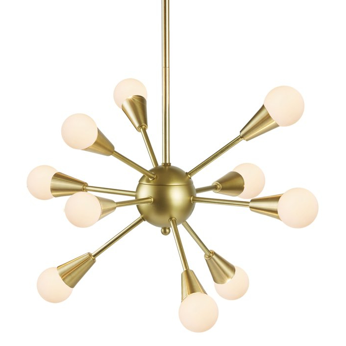 Everett 10 Light Sputnik Chandeliers Intended For 2018 Delavega 10 Light Sputnik Chandelier (View 8 of 25)