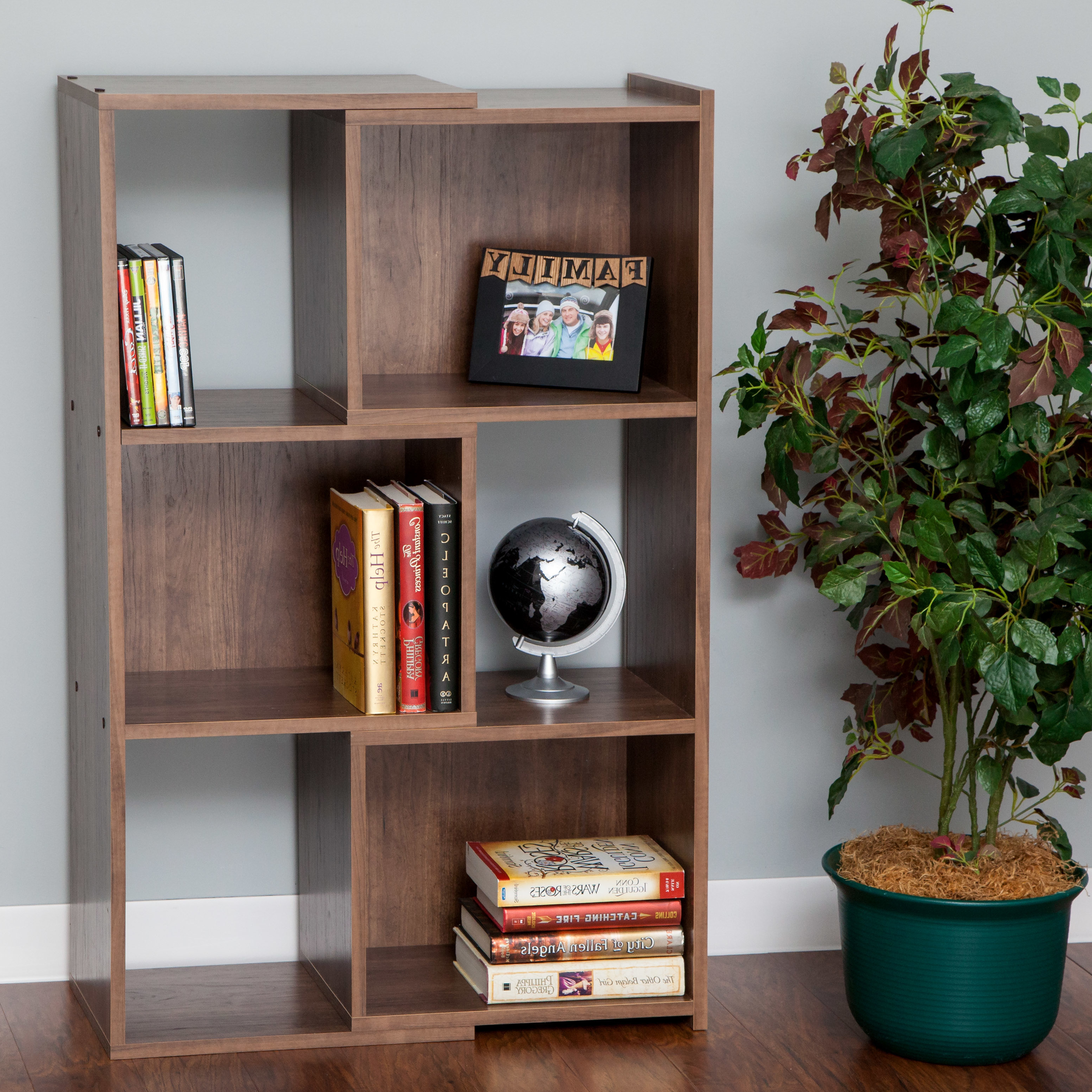 Expandable Standard Bookcase With Regard To Most Recent Kiley Standard Bookcases (View 11 of 20)