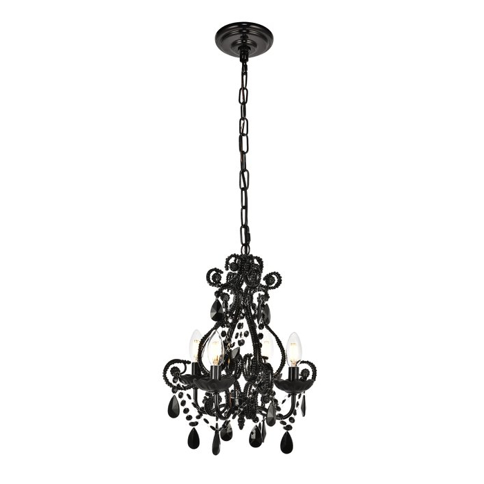 Famous Aldora 4 Light Candle Style Chandeliers Within Burcott 4 Light Candle Style Chandelier (View 9 of 25)