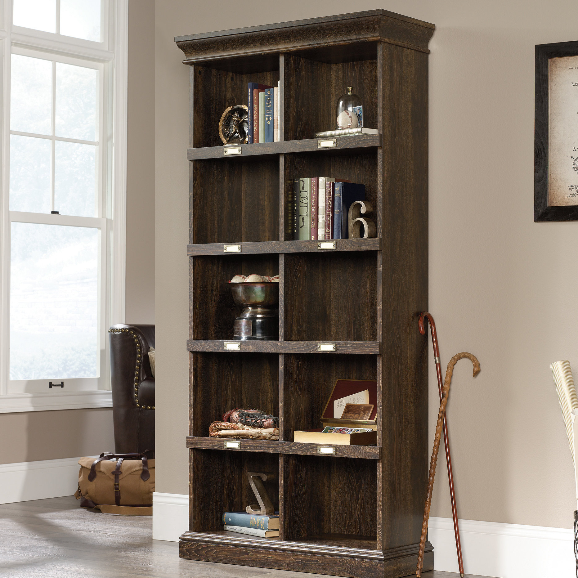 Famous Bowerbank Standard Bookcases Within Beachcrest Home Bowerbank Standard Bookcase (View 11 of 20)