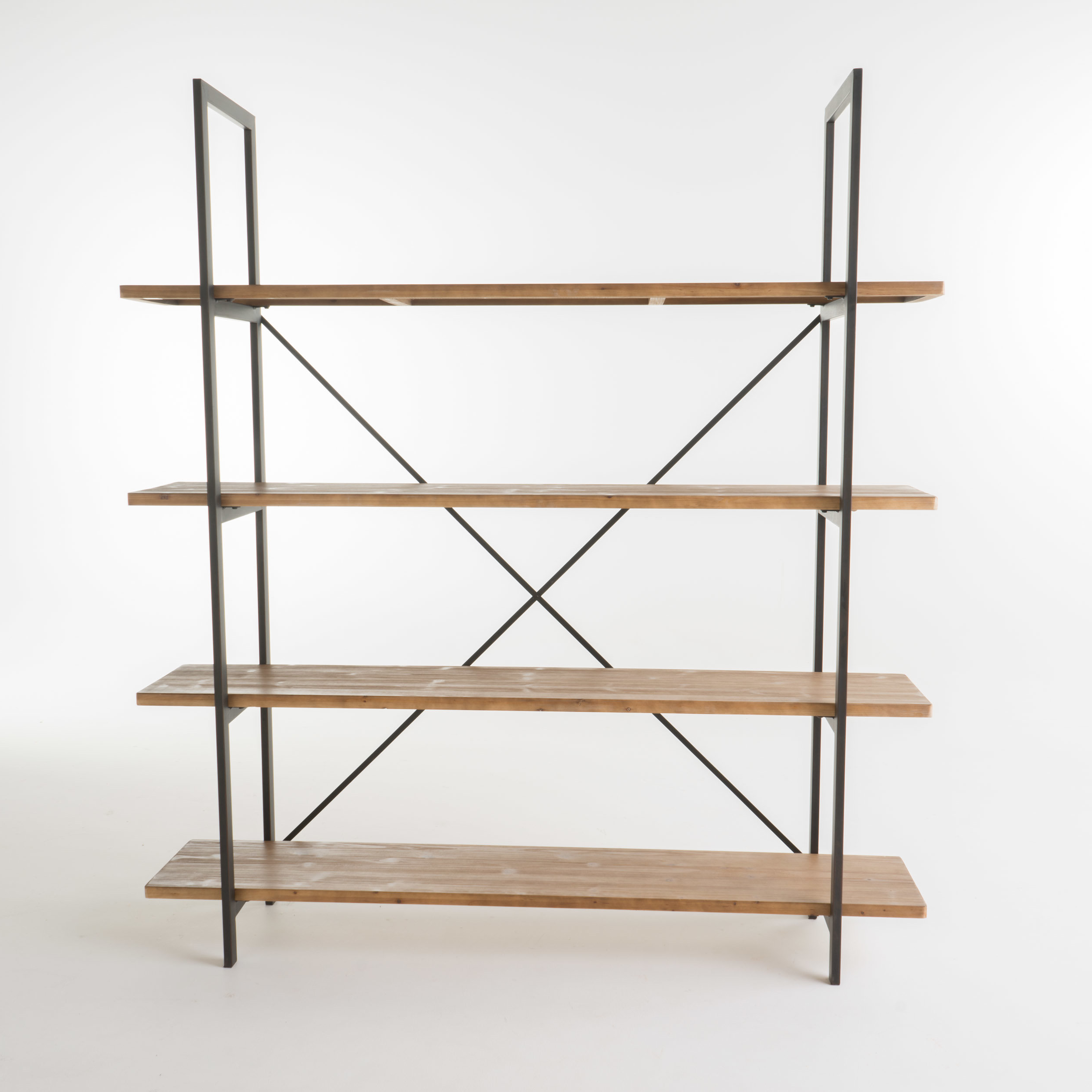 Famous Caitlyn Etagere Bookcase With Regard To Cifuentes Dual Etagere Bookcases (View 13 of 20)