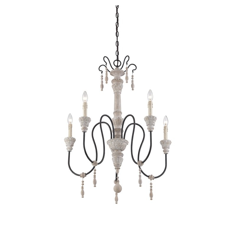 Famous Corneau 5 Light Chandelier For Bouchette Traditional 6 Light Candle Style Chandeliers (View 16 of 25)