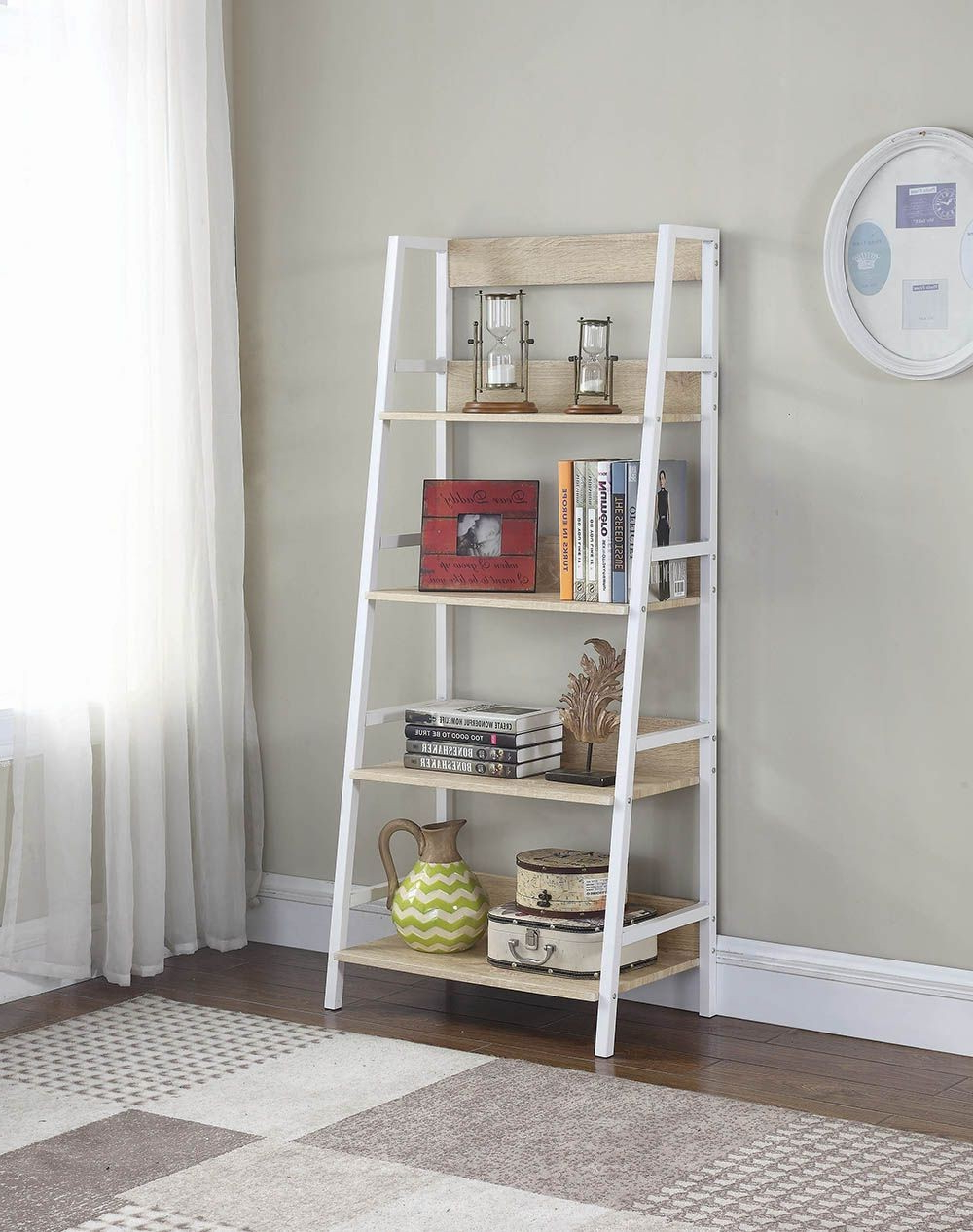 Famous Crowley Standard Bookcases Within Crowley Weathered Natural Bookcase (View 12 of 20)