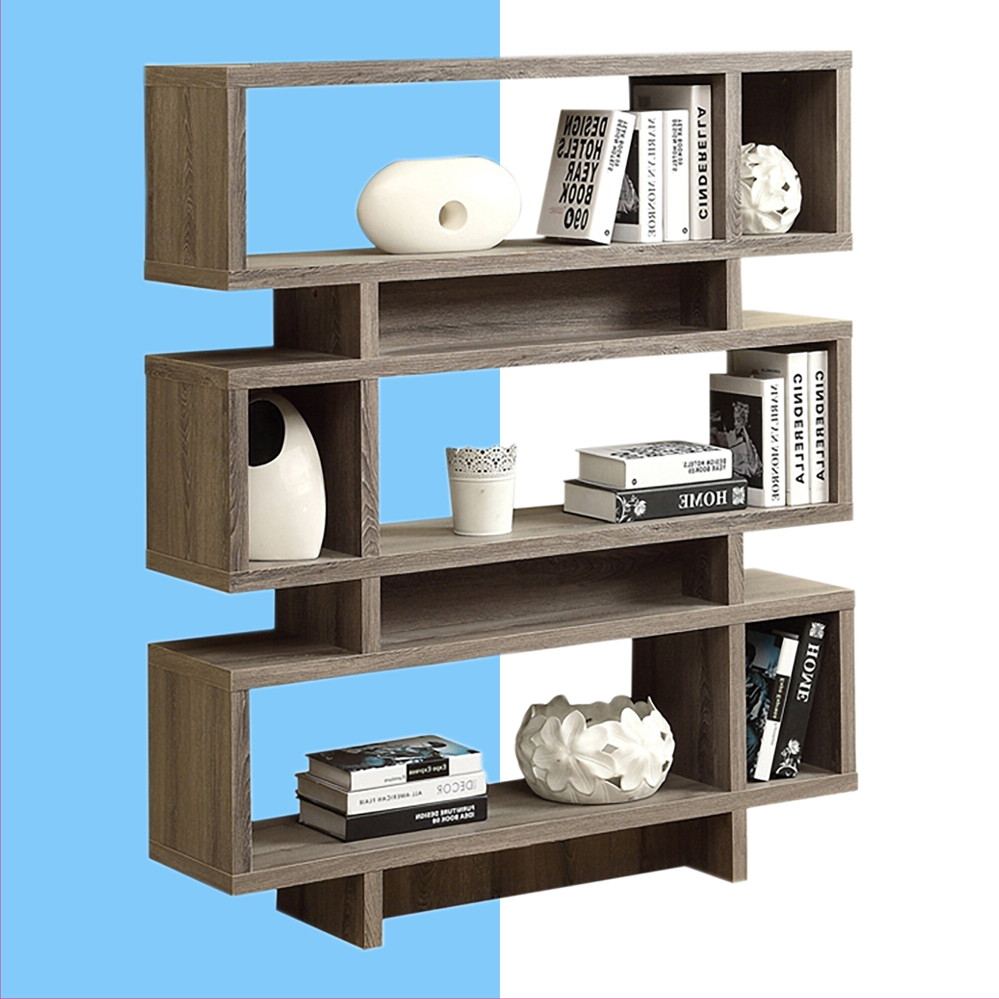 Famous Cullison Standard Bookcases Within Dunning Standard Bookcase (View 7 of 20)
