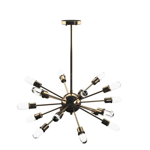 Famous Defreitas 18 Light Sputnik Chandeliers Regarding Defreitas 18 Light Sputnik Chandelier (View 11 of 25)