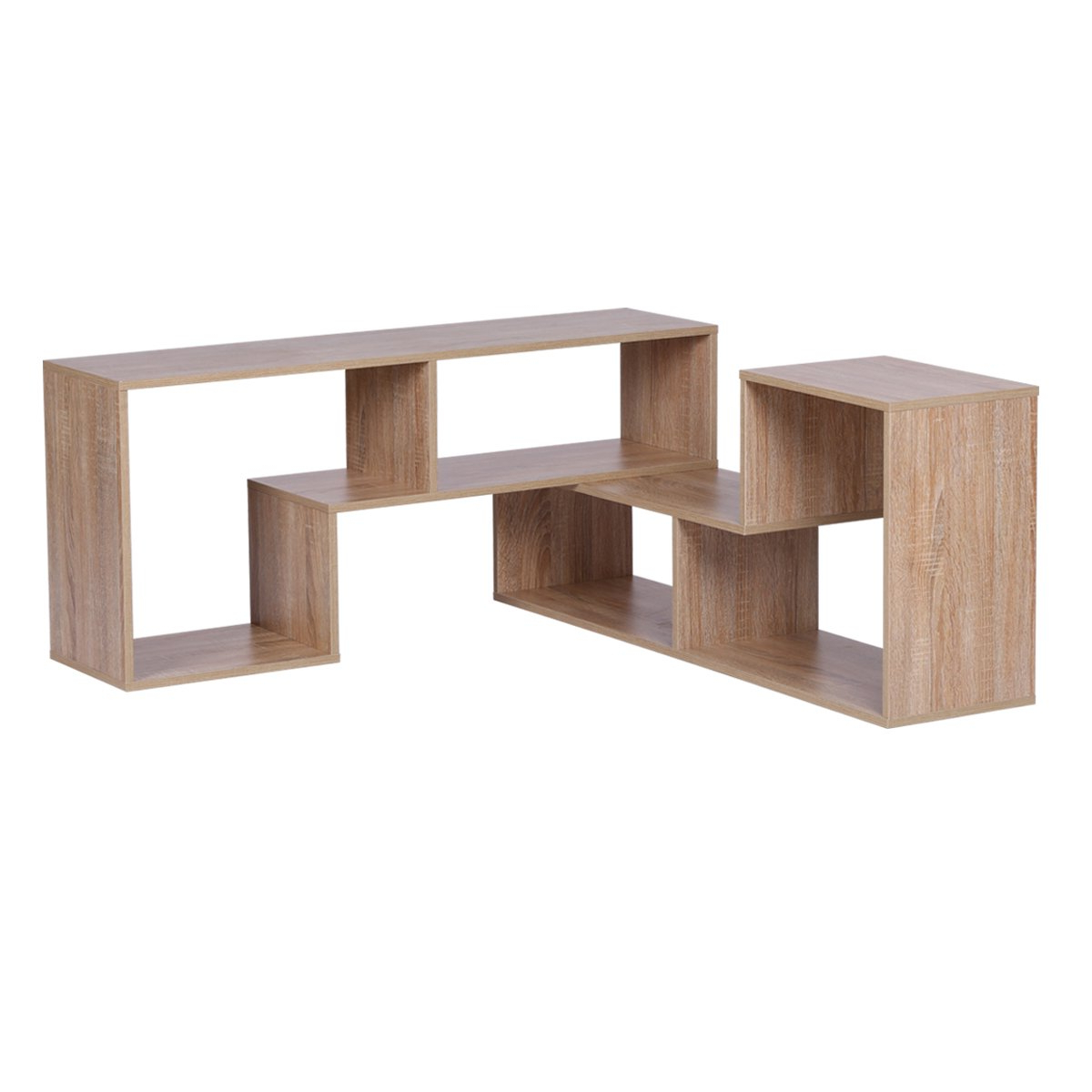 Famous Devaise Versatile Wood Tv Stand/bookcase/storage Shelf; 24mm Thickness, Oak Regarding Orford Standard Bookcases (View 20 of 20)