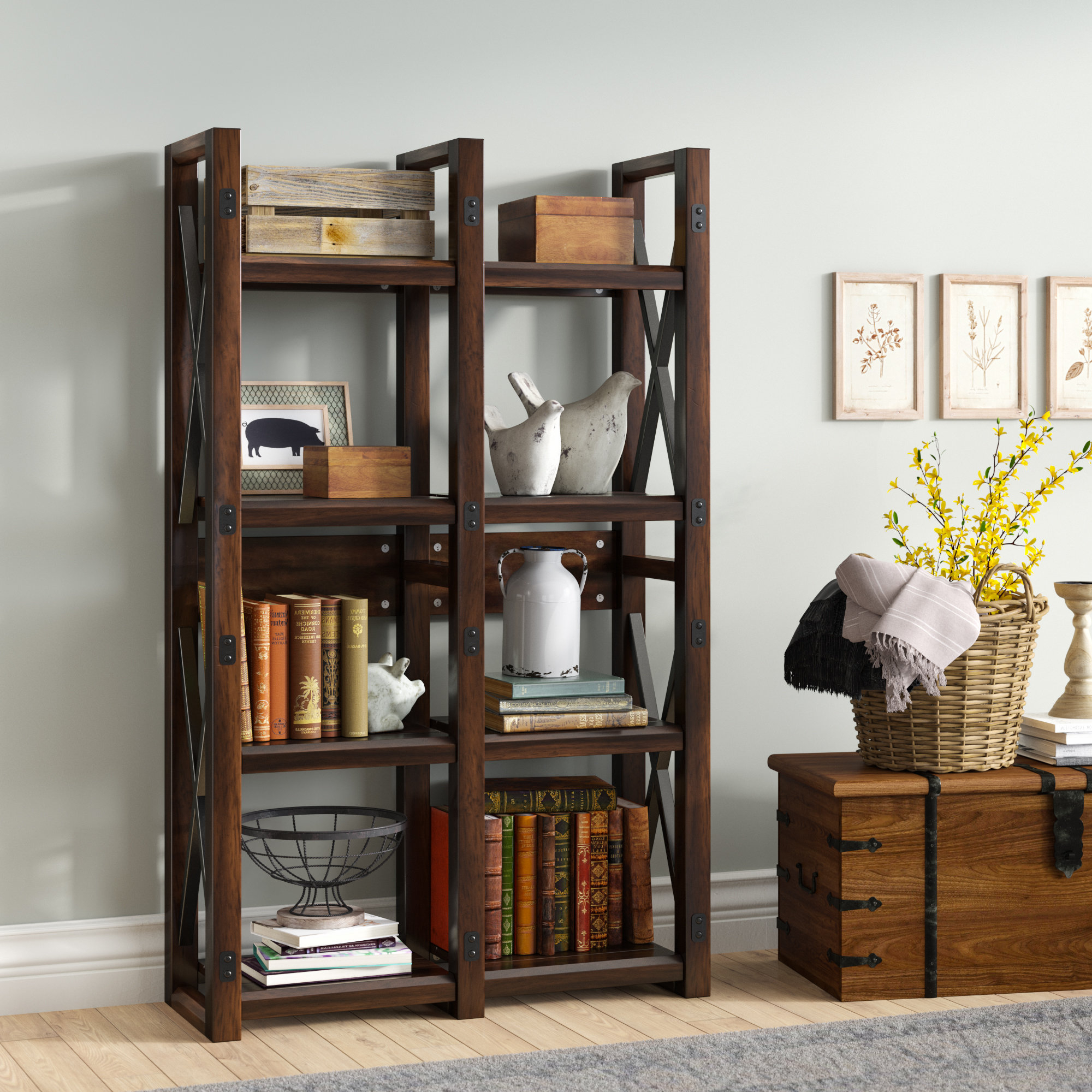 Famous Gladstone Etagere Bookcase In Gladstone Etagere Bookcases (View 2 of 20)