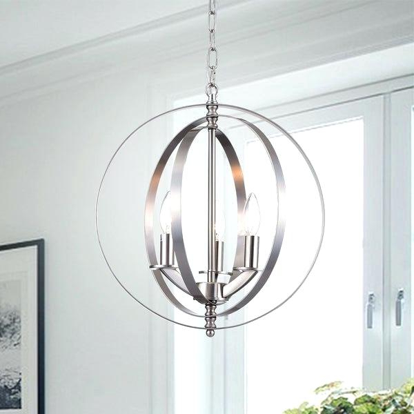 Famous Globe Light Chandelier – Nadisha With Shipststour 3 Light Globe Chandeliers (View 5 of 25)