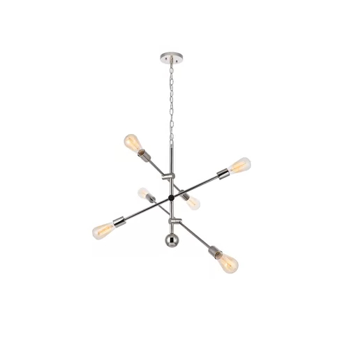 Famous Johanne 6 Light Sputnik Chandeliers With Pin On Reading Area (View 6 of 25)