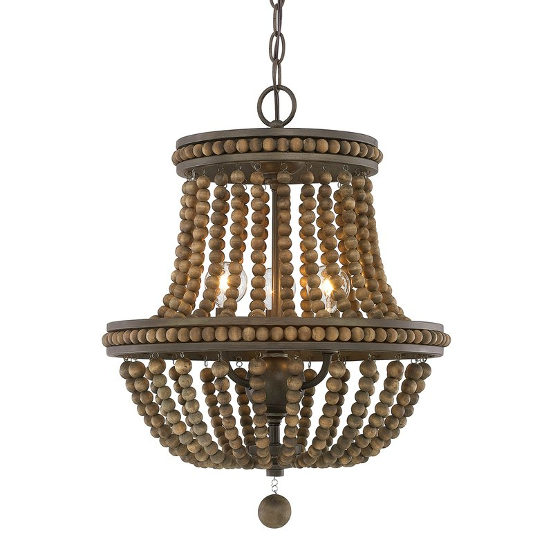 Famous Ladonna 5 Light Novelty Chandeliers For Lillian Empire Chandelier (View 10 of 25)