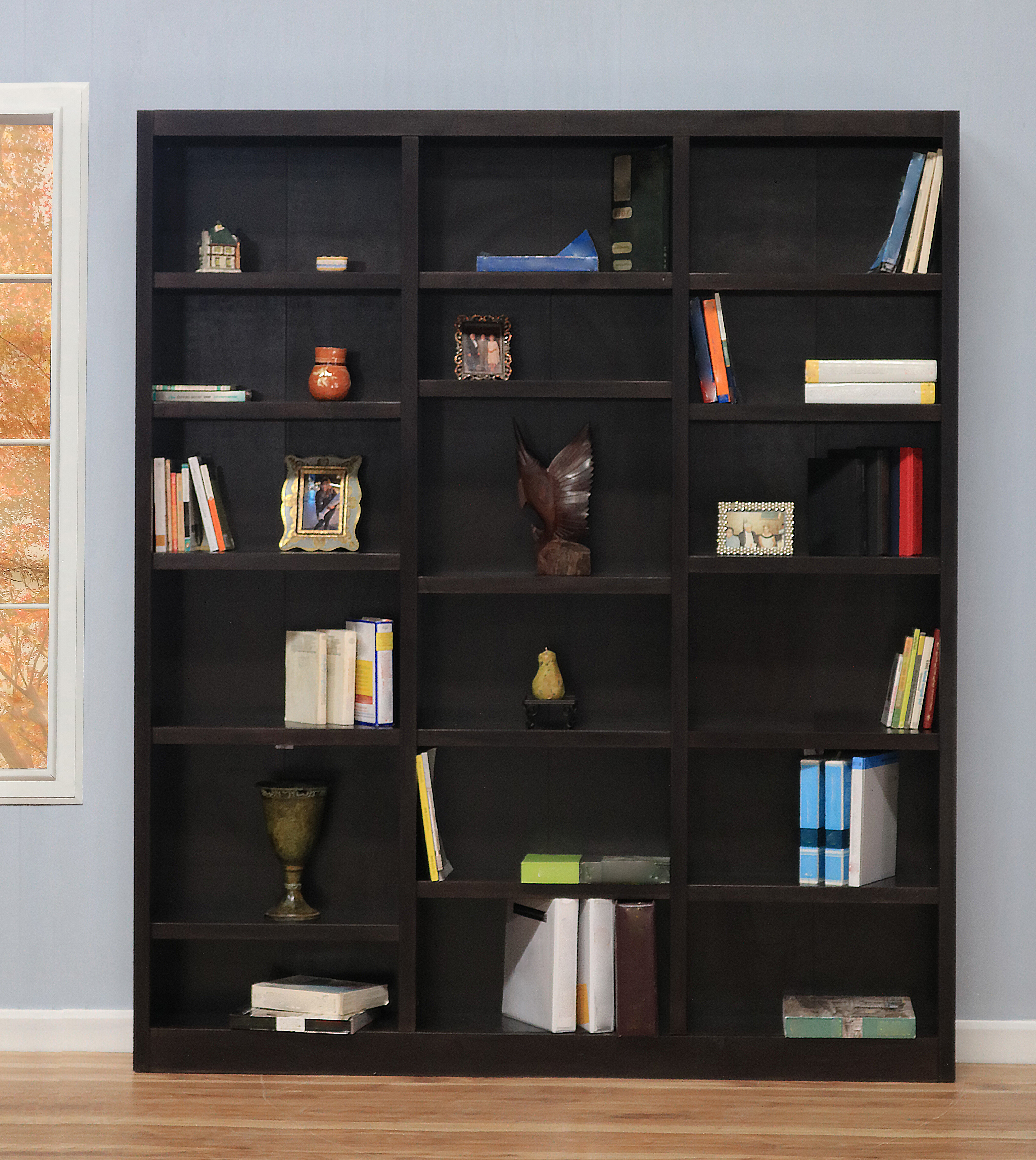 Famous Morrell Standard Bookcases Intended For Concepts In Wood Standard Bookcase & Reviews (View 4 of 20)
