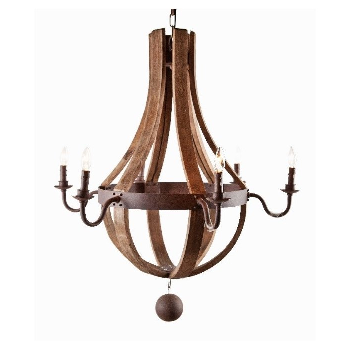 Famous Phifer 6 Light Empire Chandeliers Within Jacobson 6 Light Empire Chandelier (View 6 of 25)