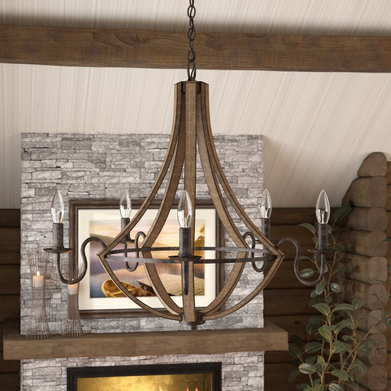 Famous Reimers 5 Light Empire Chandelier With Kenna 5 Light Empire Chandeliers (View 6 of 25)